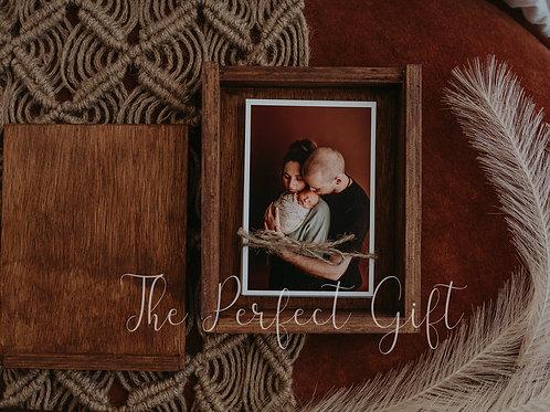 Timber Print/Album Box 4 x 6
