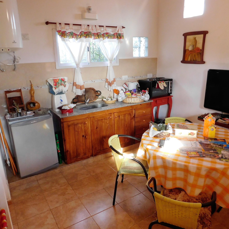 Cocina cabaña 3