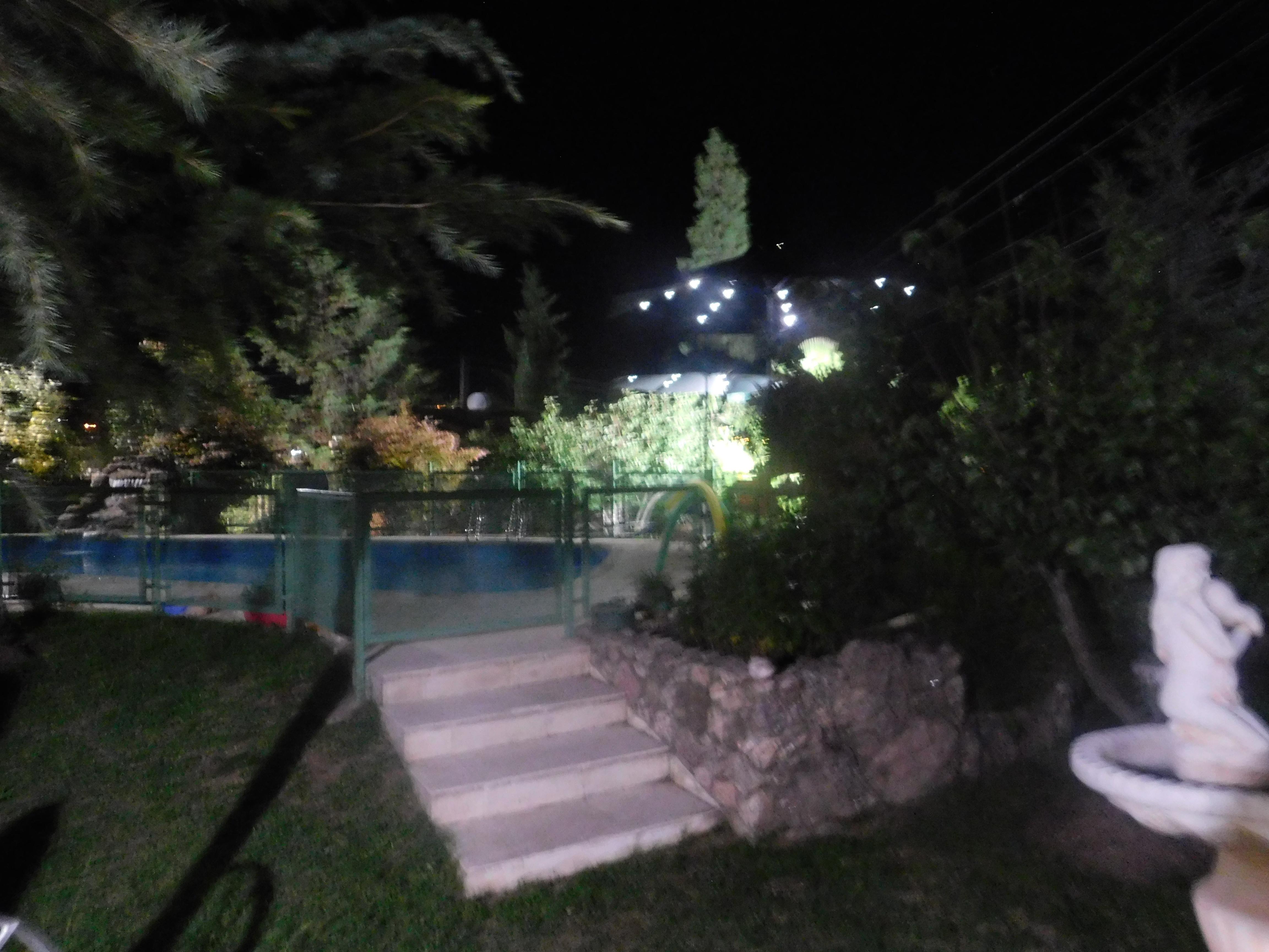 Desde el patio