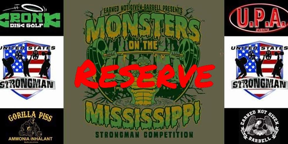 Monsters Reserve List