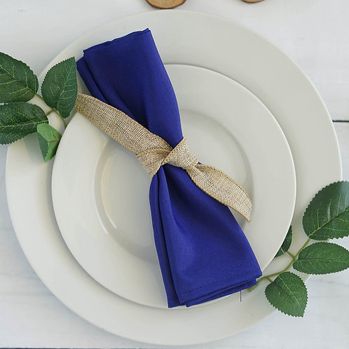 Royal Blue Linen Napkins
