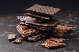 Las mordeduras de chocolate