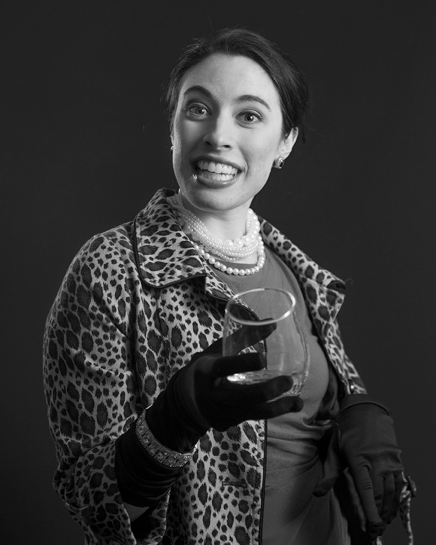 Penny as Geraldine Ellis