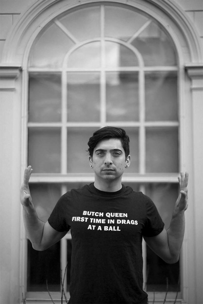 Alexander Davis, photographed at Harvard University, (c) Sarah Belclaire