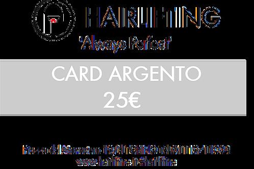 CARD ARGENTO