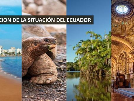 PERCEPCIÓN DE LA SITUACIÓN ACTUAL DEL ECUADOR - Octubre 2019