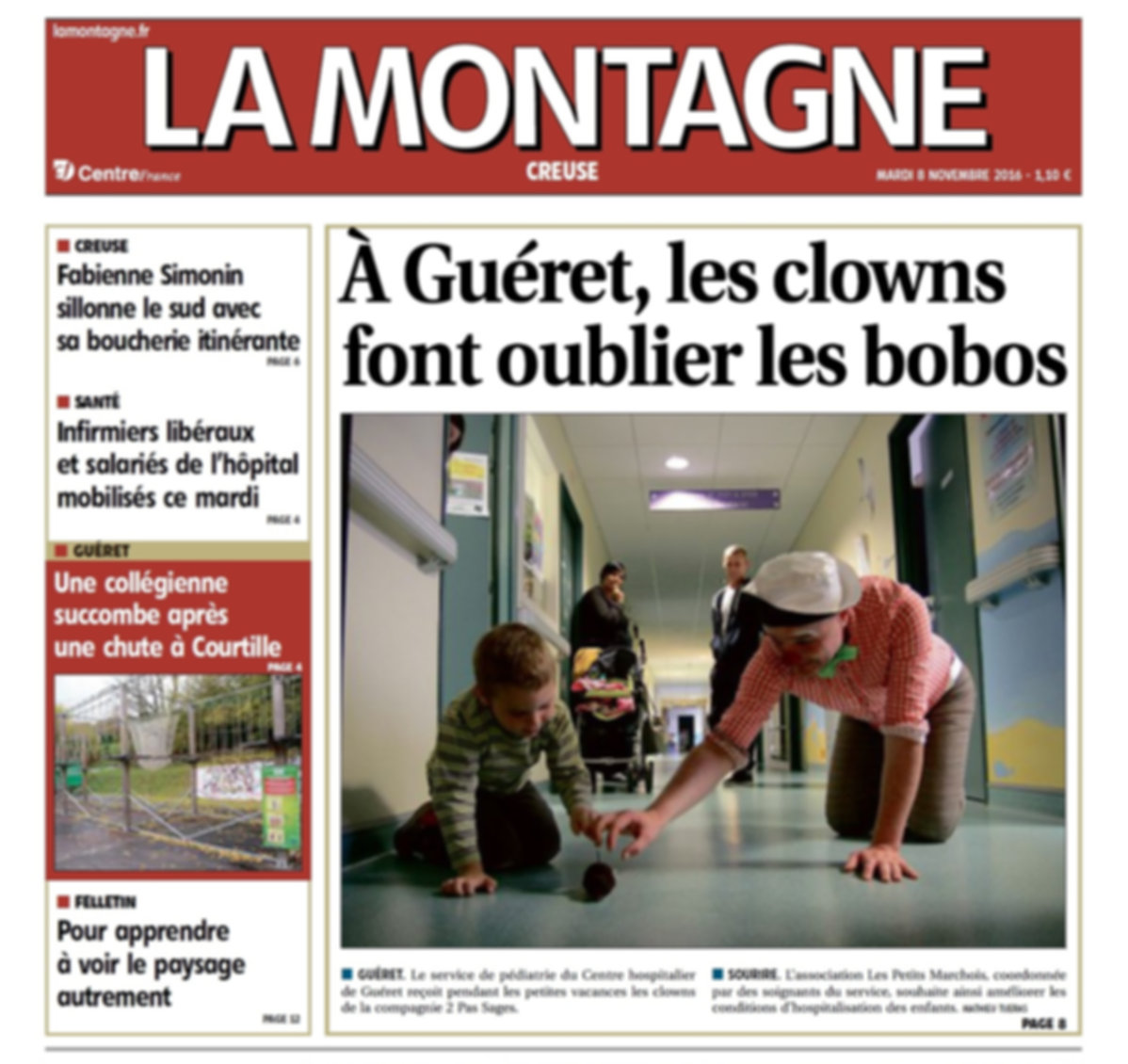 Clown hôpitaux Auvergne