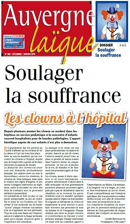 Clown maison de retraite Auvergne, clown puy de dôme