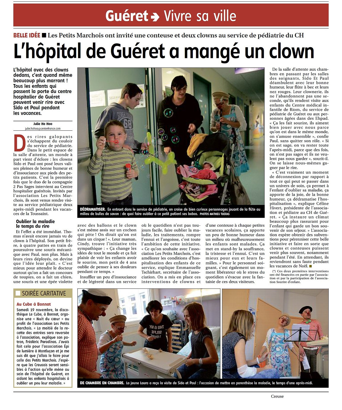 Clown hopital