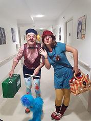 Clown hospitalier auvergne