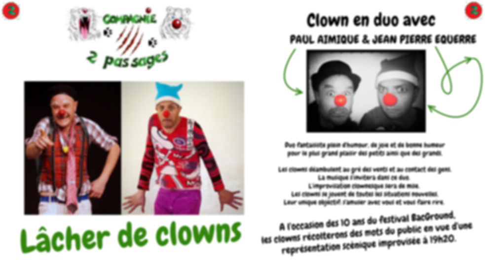 Animation clown auvergne