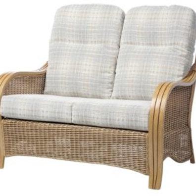 Turin Light Oak 2 Seater Sofa