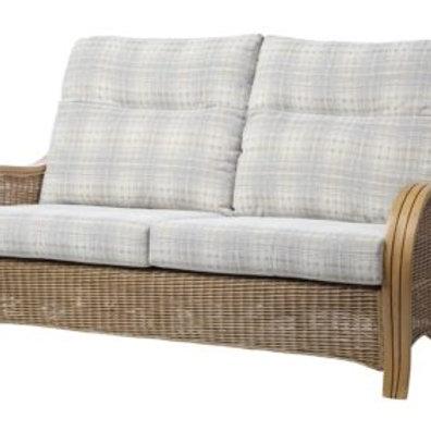 Turin Light Oak 3 Seater Sofa