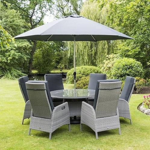 Sandringham 6 chair reclining set