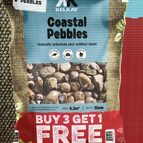 Coastal Pebbles (large pack size)