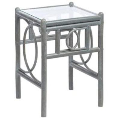 Madrid Grey Lamp Table