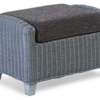 Dijon Grey Wash Footstool