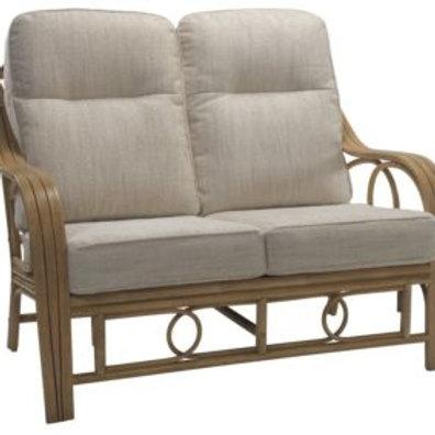 Madrid Light Oak 2 Seater Sofa