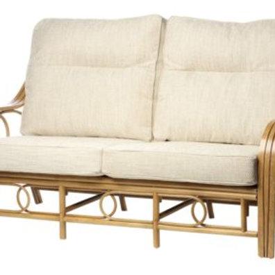 Madrid Light Oak 3 Seater Sofa
