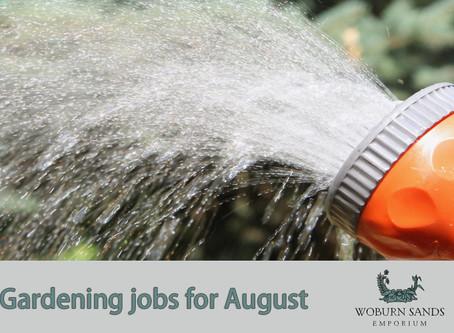 Top Gardening Jobs for August