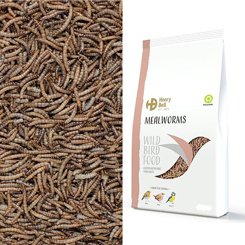 Henry Bell Mealworms 1kg
