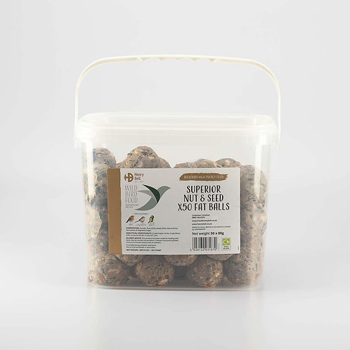 Henry Bell Nut & Seed 50 fat balls