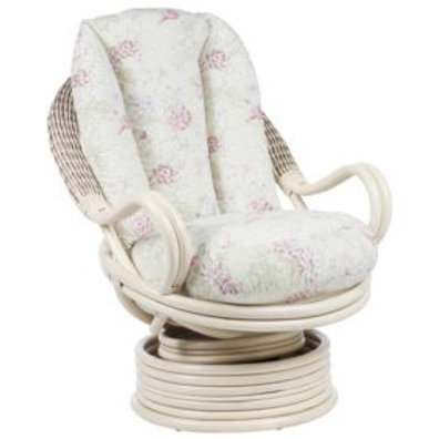 Bali Natural Deluxe Swivel Rocker