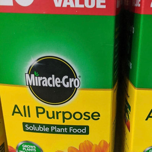 Miracle Gro All Purpose soluble plant food 1kg +20%