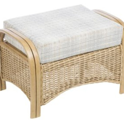 Turin Light Oak Footstool