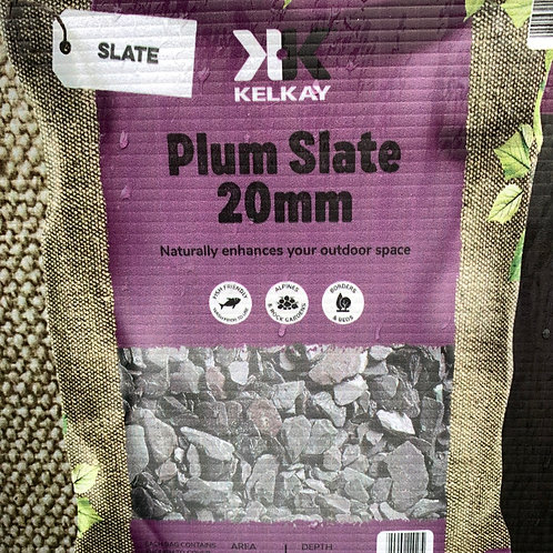 Plum Slate 20mm (large pack size)