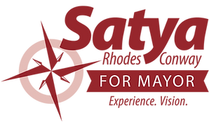 Satya Rhodes-Conway for Mayor Logo