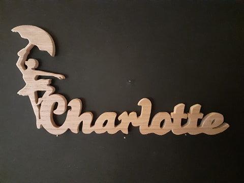 Prénom silhouette _ Charlotte