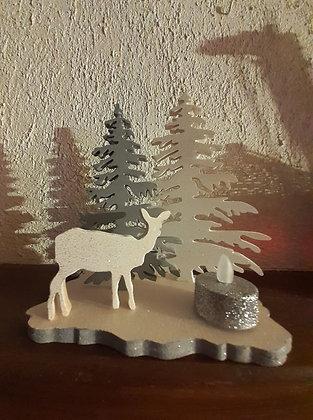 Paysage hivernal _ Biche
