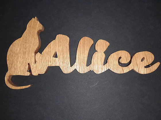 Prénom silhouette_ Alice