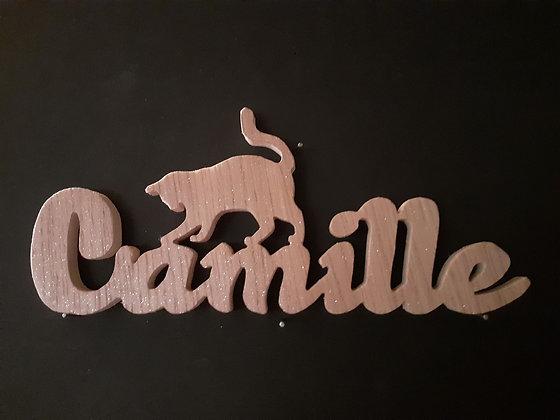 Prénom silhouette _ Camille