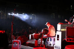 Azmat Hekim Playing Drums