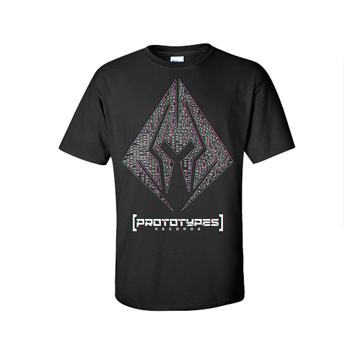 Prototypes Records - Black T-Shirt