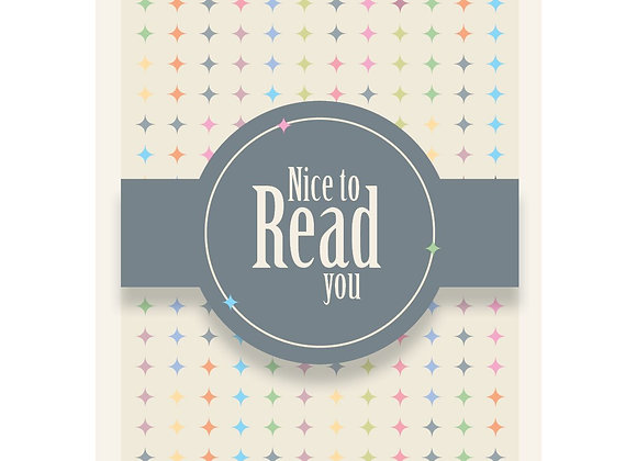 Nice to Read you