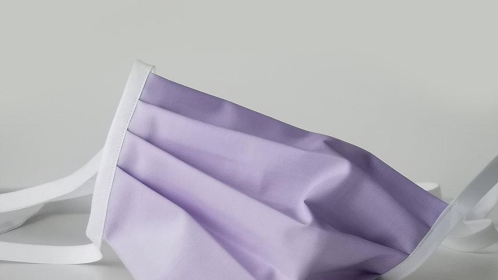 Behelfsmaske Baumwolle - Flieder