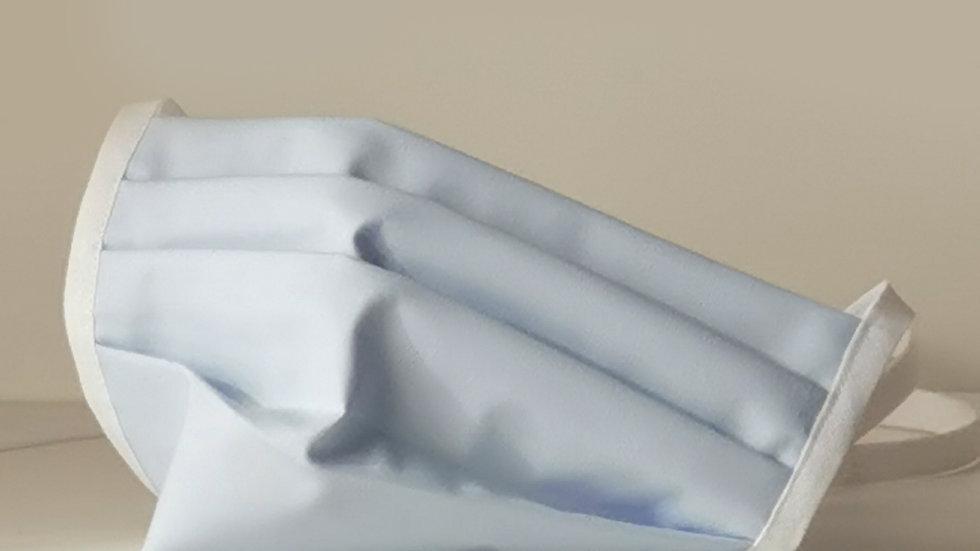 Behelfsmaske Baumwolle - Himmelblau