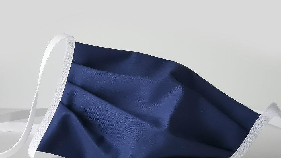 Behelfsmaske Baumwolle - Marine
