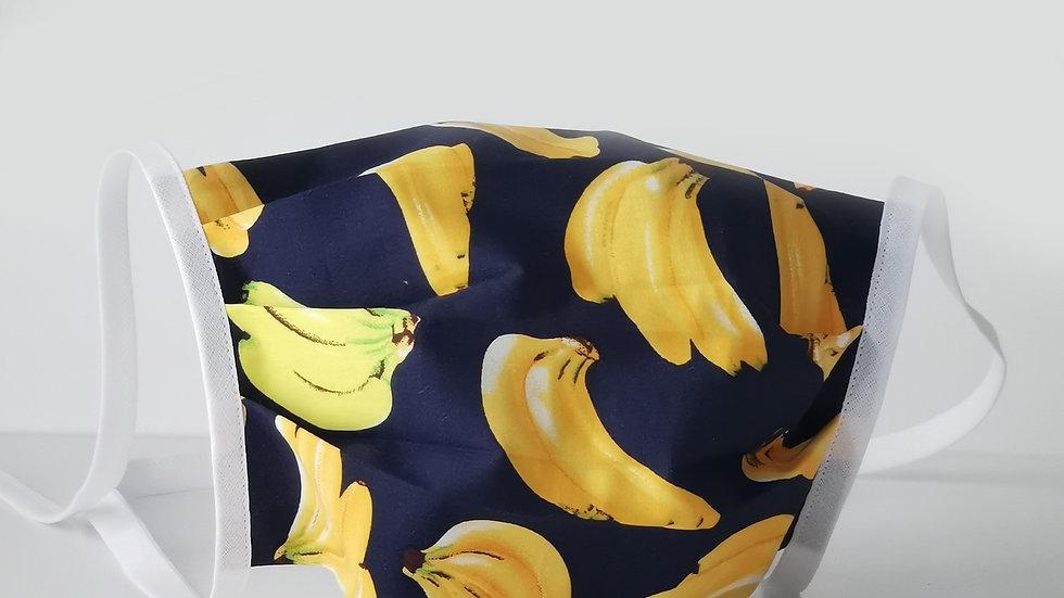 Behelfsmaske Baumwolle - Banana