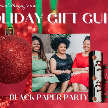 2020 Black Parent Magazine Holiday Gift Guide. Holiday Gifts from Black Owned Companies.