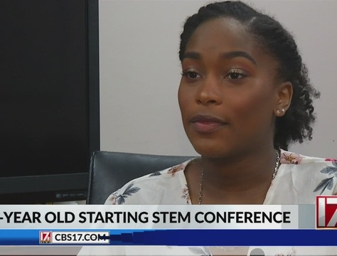 Apex student plans STEM conference for Triangle middle, high school girls.(WNCN)
