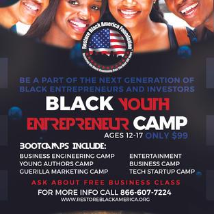 Black Youth Entrepreneur Summer Camp