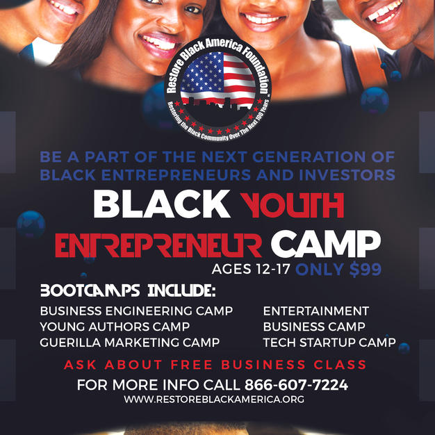 Black Youth Entrepreneur Summer Camp