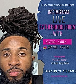Instagram LIVE w/Kyren Gibson