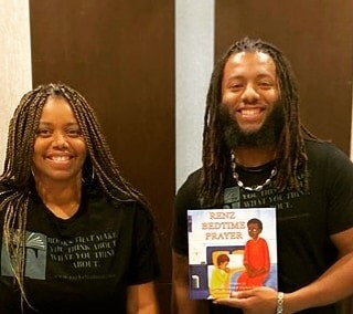 Mother and son write a children's book about the importance of praying with your children.