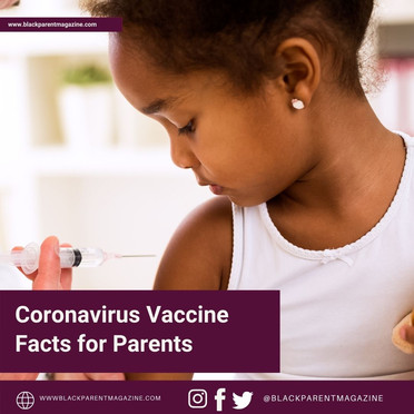 Coronavirus Vaccine Facts for Parents