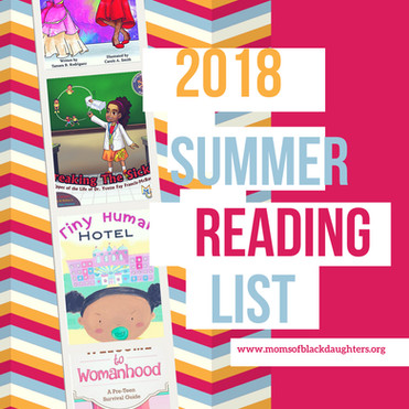 """2018 Summer Reading List For Black Girls """"Empower HER"""""""